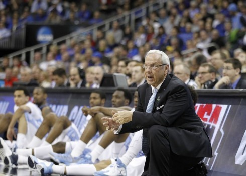 roy williams unc basketball ncaa 2013