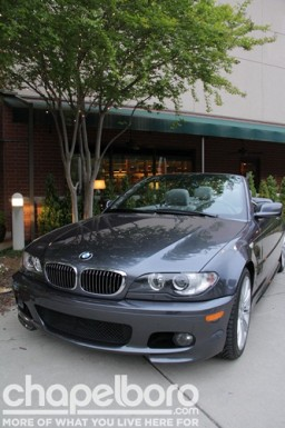 The BMW that was up for grabs!