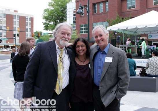 Ron Stutts, Rita Singh and Bill Spiegel