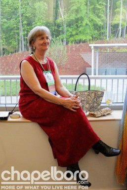 Martha Diefendorf had the best seat in the house
