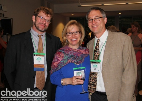 Greg Bell, Heather Benjamin and Jeff Danner