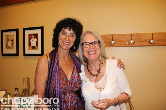 Sue-Anne Solem and Betty Carr