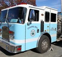 chapel hill fire truck