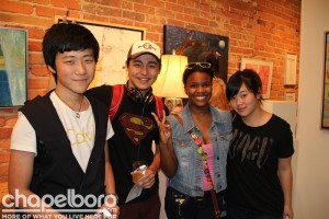 Jason Wei, Azama Ahmedjanov, Petra Washington, Millie Chang
