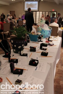 Some of the fabulous auction items
