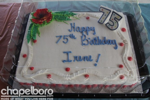 Happy 75th Birthday Irene Briggaman!