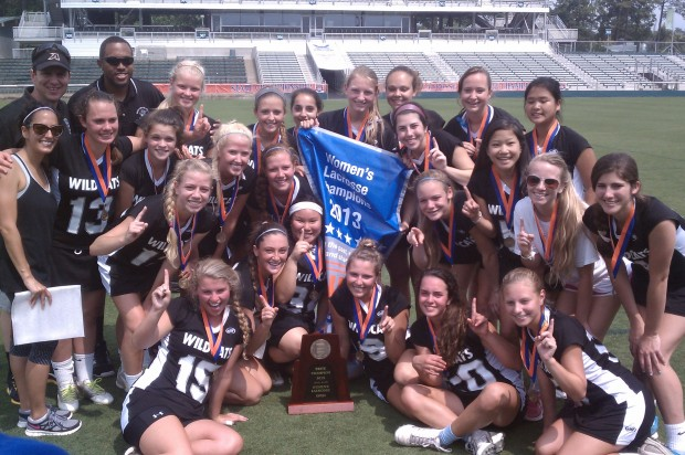 sydney holman lacrosse state title championship east chapel hill high