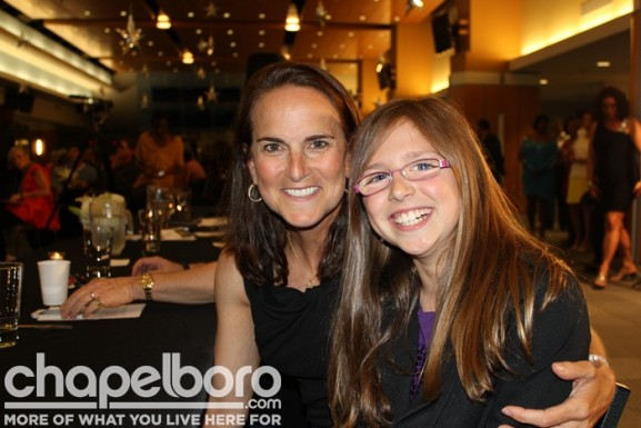 Carla Overbeck and her daughter Carson