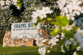 chapel hill welcome sign