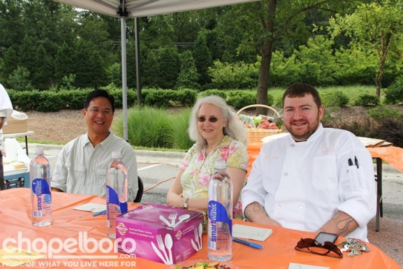 Peter DeLeon, Jennie Heck and Eddie White were the judges for the competition