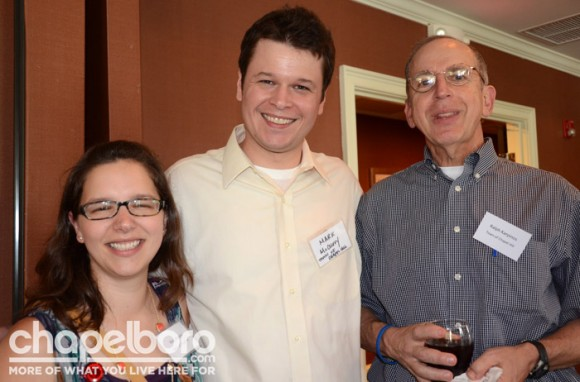 Megan Wooley, Mark McCurry, Ralph Karpinos