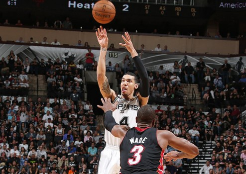 Danny Green set an NBA Finals record for the most made three-pointers. (Nathaniel S. Butler/NBAE via Getty Images)