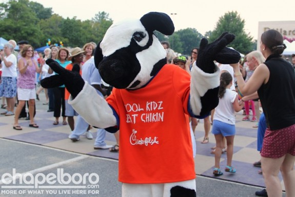It wouldn't be a Sweet Carolina Concert without Chic-fil-a!