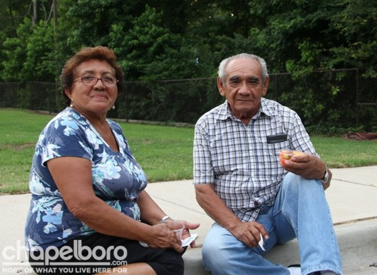 Berta Perez and Manuel Alpuche