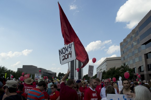 Moral Monday March; Photo by Alex Curley