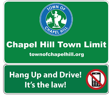 Chapel Hill Proposed Phone Sign