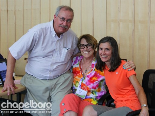 Some of the best volunteers ever~ Bob Schreiner, Kathe Baer and Karen Curtin-