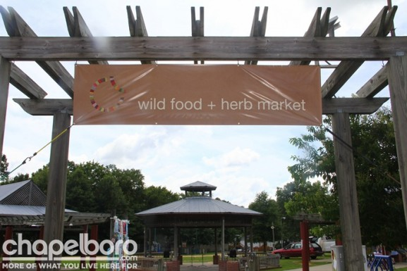 Welcome to the Wild Food and Herb Market