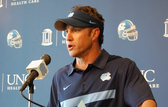 larry fedora press conference