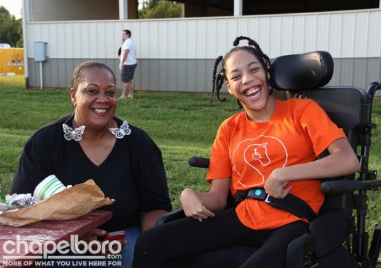 Cookie Dixon and Perlisha Dixon were all smiles!