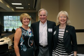 Desiree Goldman, Bruce Ballentine, and Irene Briggeman