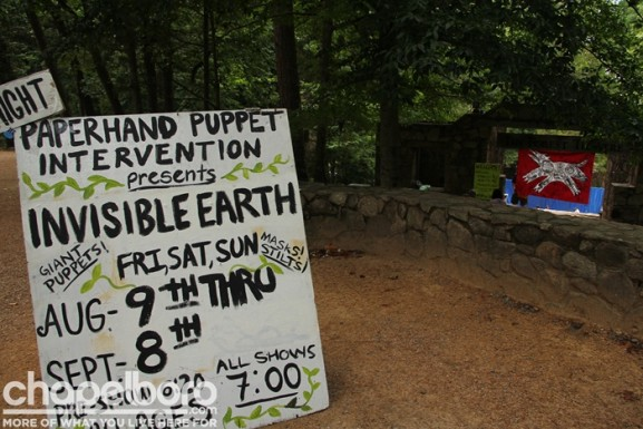Invisible Earth runs through September 8 at the beautiful Forest Theatre