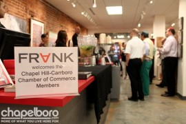 Welcome to Business After Hours at FRANK Gallery!