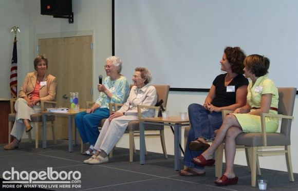 The panel included Lydia Lavelle, Lennie Gerber, Pearl Berlin, Chantelle Fisher-Borne and Marcie Fisher-Borne