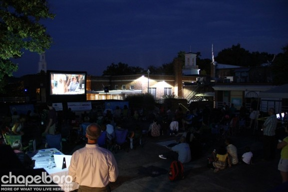 It was a beautiful night for a movie!