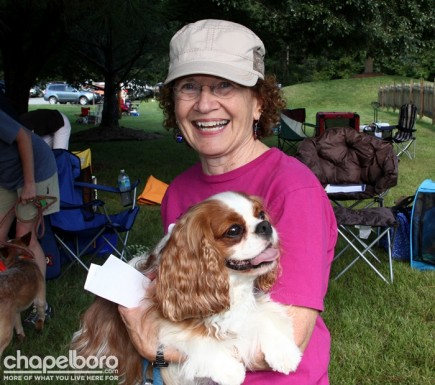 Jeanette Rojeski with Ollie