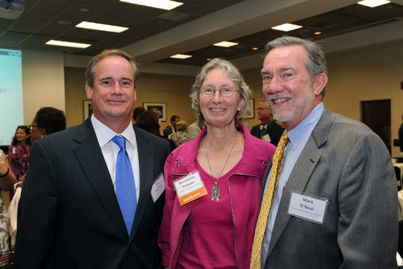Jim Kitchen, Bernadette Pelissier, and Mark O'Neal