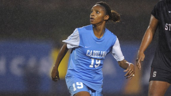 Crystal Dunn (Photo courtesy of GoHeels.com)