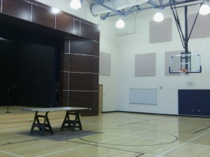 Northside Elementary auditorium gym