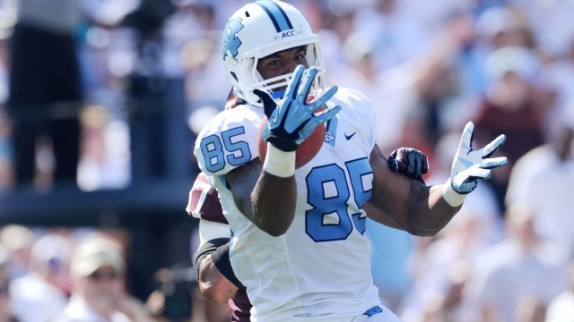 Eric Ebron (Courtesy of Goheels.com)