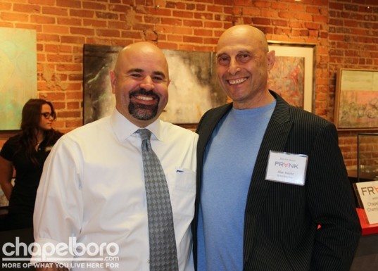 The Chamber's Aaron Nelson and FRANK's  Alan Hecht