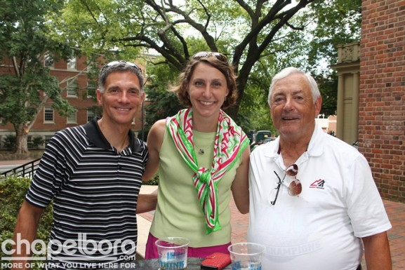 Wayne McLeod, Martha Holelzer, John Brown