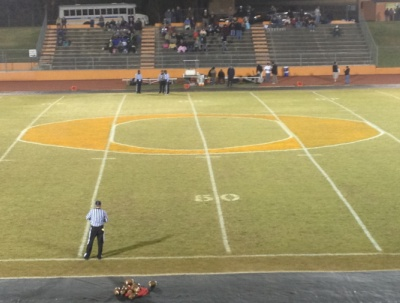 orange high school field