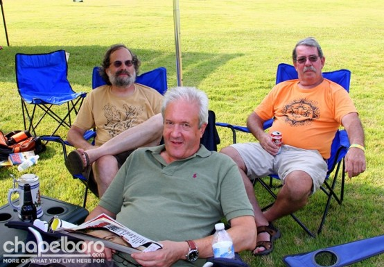 Bill Brown, Rick Sieber, Paul Dille