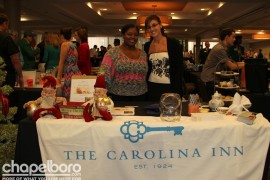 Charmain Cale and Lina Hooker with the Carolina Inn