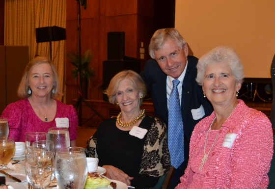 Mike and Wendy Maxwell sharing laughs with Marian Lane and Beth Isenhour.