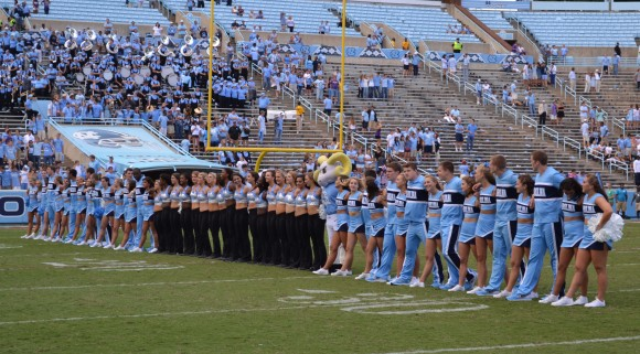 UNC post-game tradition.
