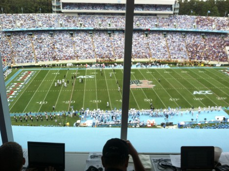 unc football military appreciate day