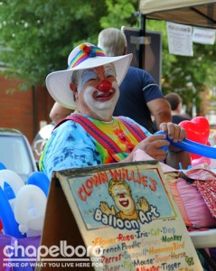 It's always good to see William Tart as Clown Willie!