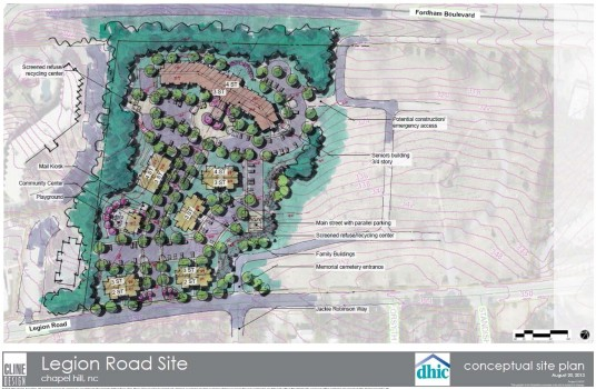 Legion Road affordable housing plan