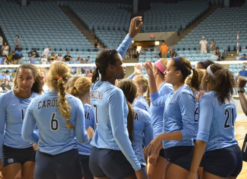 Carolina Volleyball at the Carolina Classic