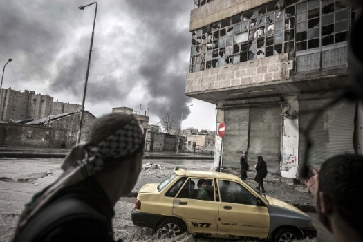 Pictured: Aleppo, Syria; courtesy AP Photo/Narciso Contreras
