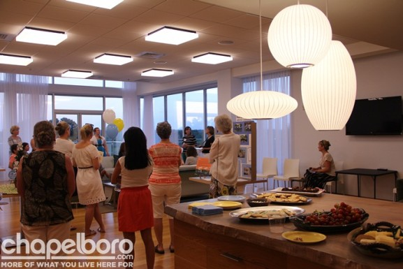 The reception was held in the beautiful Sky Lounge at Greenbridge Condominiums
