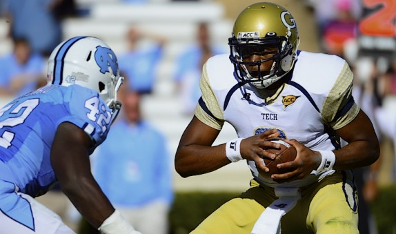 NCAA Football: Georgia Tech at North Carolina
