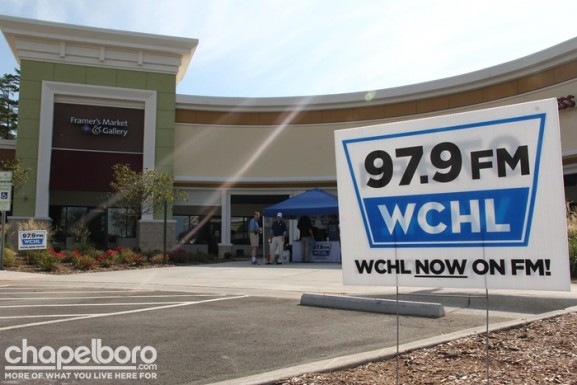 WCHL started the morning at Ram's Plaza!