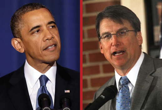 Obama and McCrory